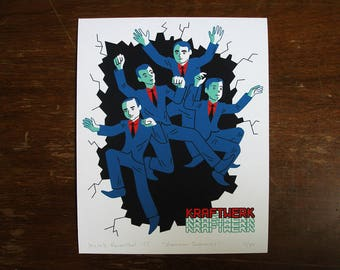 Showroom Dummies Kraftwerk print