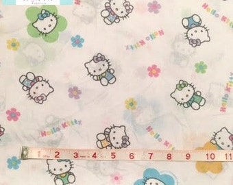 Twin Fitted Hello Kitty Sheet