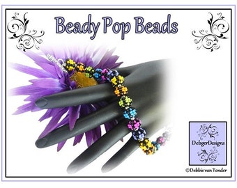 Beading Pattern, Tutorial, Beaded Beads - BEADY POP