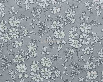 Liberty tana lawn printed in Japan - Capel - Gray mix