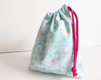 Liberty Lawn 'Yoshi D' Small Drawstring Bag