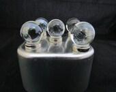 Strong magnet set of glass marble magnets look like crystal balls, neodymium magnet set, white board magnets, fridge magnets #422
