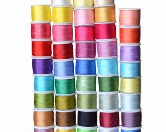 100% Pure Mulberry Silk Embroidery Ribbons Tape Double Face Thin Taffeta 1 yard