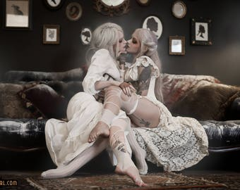 Ghost 3 - Genevieve & Rin - High Quality 8x11 SIGNED print