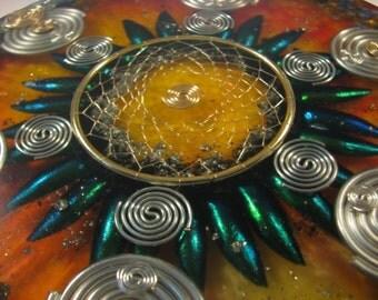 Orgone Mandala - Sodalite and Tiger Eye