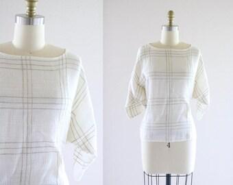 woven gauze blouse