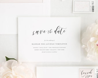 Everly Save the Date - Deposit
