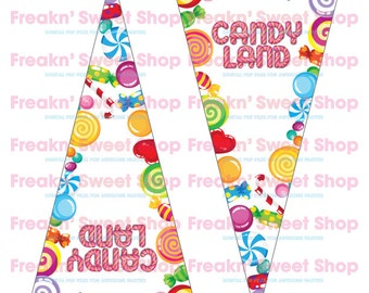 Candy Land Banner PDF file
