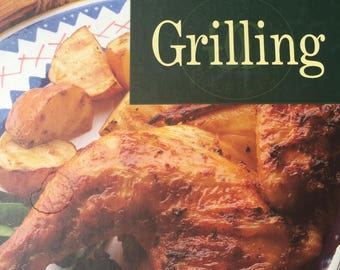 Grilling - William Sonoma Kitchen Library - Copyright 1992-Reprint 1994 - Great Condition - Near New Recipe Cook Book