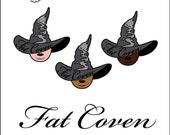 Fat Coven Enamel Pin - PREORDER