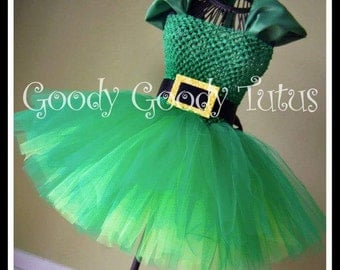 LUCK O'THE IRISH St. Patrick's Day Tutu Dress