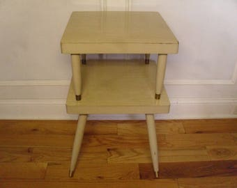 Vintage 1950's/1960's  Two Tiered Table