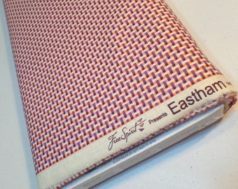 Fabric Yardage - Quilting Weight Cotton - Denyse Schmidt - Eastham - Weave Stripe - Thistle - DSQuilts - Purple