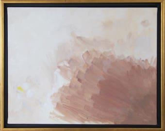 "Beginning - 11""x14"" Acrylic on Canvas"