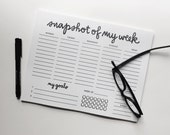 NOTEPAD: weekly to do list with goal habit builder  [I've got it together' series], Organized Living, Recycled Paper Notepads, Goal Setting