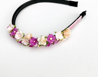 Easter flower headbands