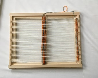 weaving frame loom kit handcrafted beginners loom kit with all need to weave
