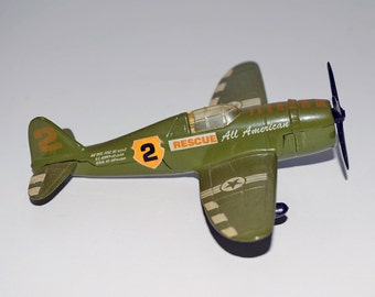 Collectable Airplane - Maisto Die Cast Metal 1:87 Scale Model P47D Toy Plane