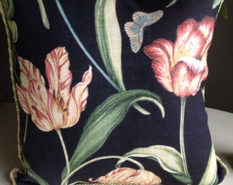 Spring Tulip Little Toss Pillow