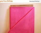 SALE Cotton and Steel Basics Sprinkle Hot Pink By the 1/2 Yard