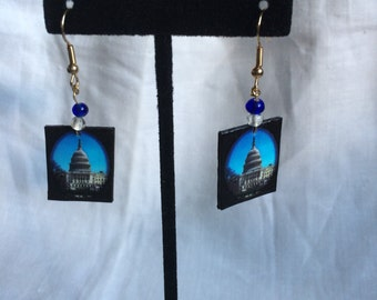 U.S. Capitol earrings