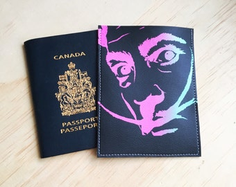Salvadore Dali Ombre Passport Case