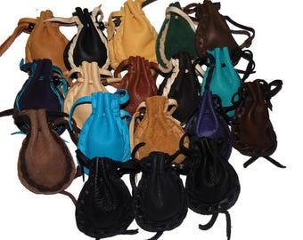 Pocket pouches medicine bags drawstring