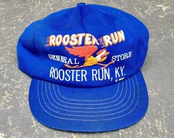 Vintage 1984 Rooster Run Kentucky Snapback Hat