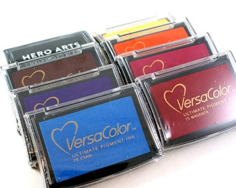ALMOST FREE with 75 DOLLAR purchase - versacolor or hero arts ink pad