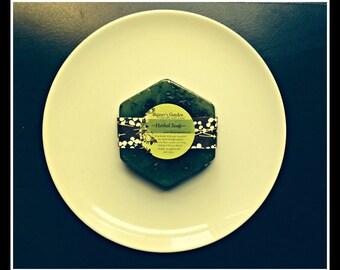 "Rosemary - Peppermint - Handmade Herbal Soap - Stimulating - ""Energy""- Scented Soap - Bath & Body - Holiday Gift Idea - Bath Soap - Unisex"