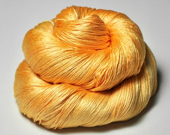 Stale tangerine lemonade  - Silk Lace Yarn
