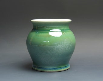 Pottery bud vase, stoneware flower vase 3725