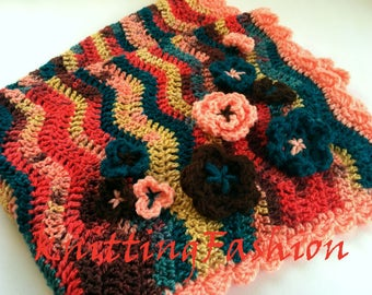 Baby Car Seat Blanket_Crochet Baby Blanket_Newborn Baby Photoprops_Crib Blanket_Baby Blanket Basket Filling_Baby Shower Gift