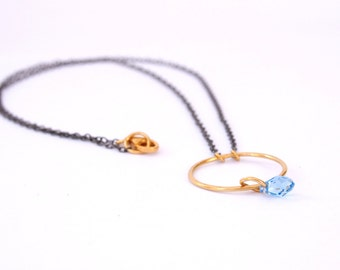 Gold Circle Neacklace
