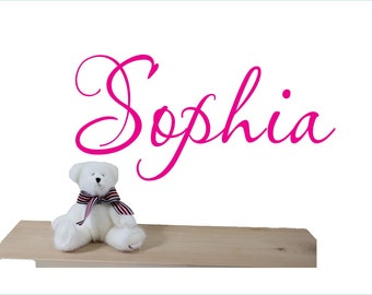 Wall decal for kids - Name wall decal ,  NAme wall sticker , Girls name sticker , Personalized decals