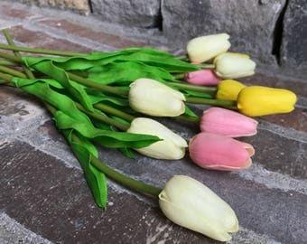 No Need to Tiptoe: Real-Feel Tulips - Sold By the Stem