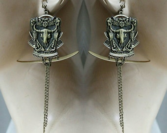Valley of Death earrings