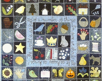 "QUILTING FUN (Quilt Pattern):  ""It's A Wonderful World"" -  Design by Bonnie Sullivan"