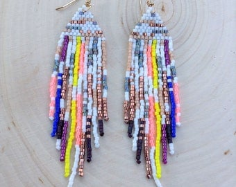 Paint Splatter Earrings