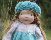 """Reserved for Stephanie Waldorf doll Lisa 18"""" Christmas present, Gifts for Children birthday, dolls"""