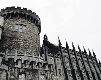 Ireland-Dublin Castle- Exterior Architecture -Fine Art Photography