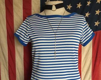 Mod striped dress