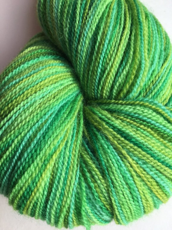 Spring Green Lace Weight Merino