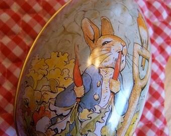 frederick warne co tin egg
