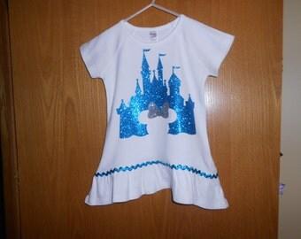 Disney Castle Personalized  T Shirt