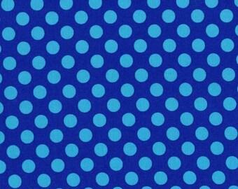 Michael Miller Ta Dot Cobalt fabric - 1 yard