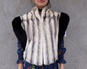 RESERVED Gorgeous Cruella DeVil FUR Vest
