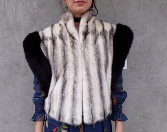 Gorgeous Cruella DeVil FUR Vest