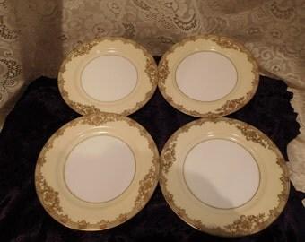 Four Vintage Nortake Bread Plates Revenna Japan