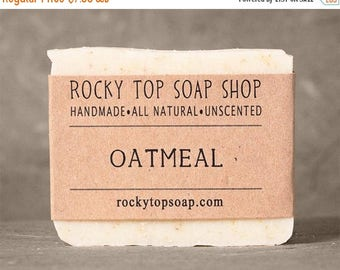 Oatmeal Soap - All Natural Soap, Handmade Soap, Cold Process Soap, Vegan Soap